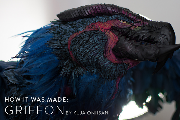 How It Was Made: Griffon by Kuja Oniisan