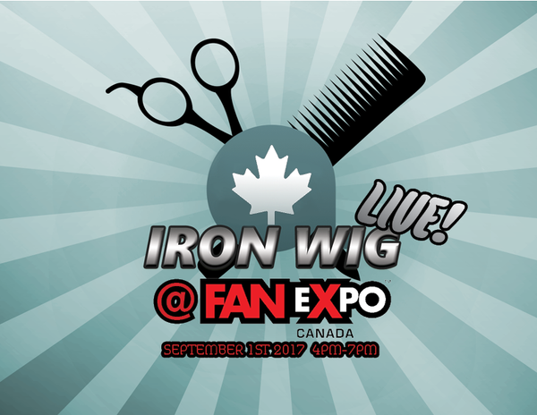 Iron Wig LIVE @ FAN EXPO Canada! Now Accepting Applications!