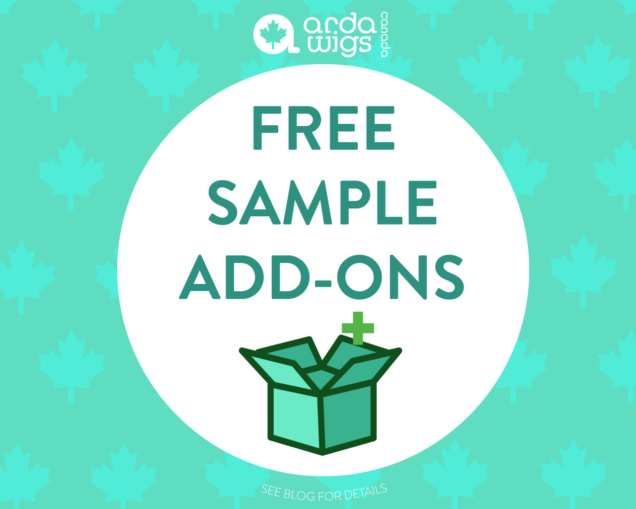 free sample add ons
