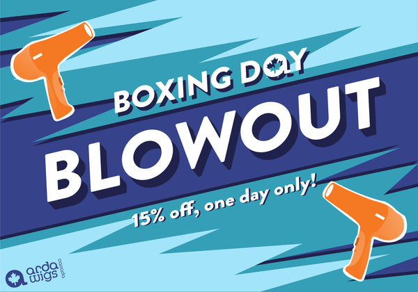 Arda Wigs Canada Boxing Day Blowout sale
