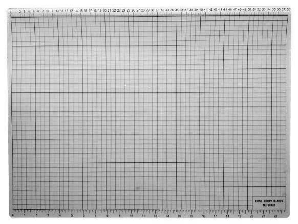 "Cutting Mat 12"" x 18"" - Clear"