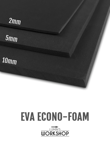 Lumin's Workshop EVA Foam Dowel - Half Round