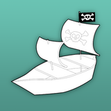 Free Pattern: Pirate Ship