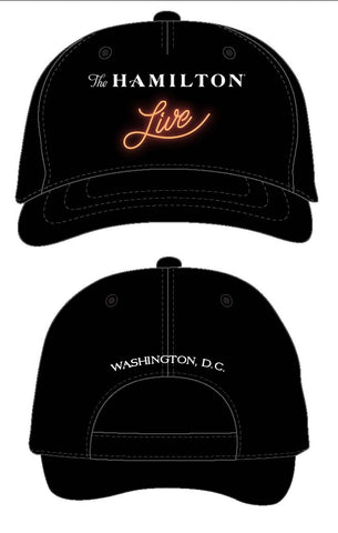 The Hamilton Live Baseball Cap