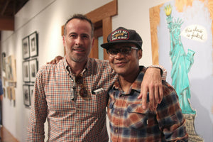 Lee, Pastras, Peterson & Saiz Art Event