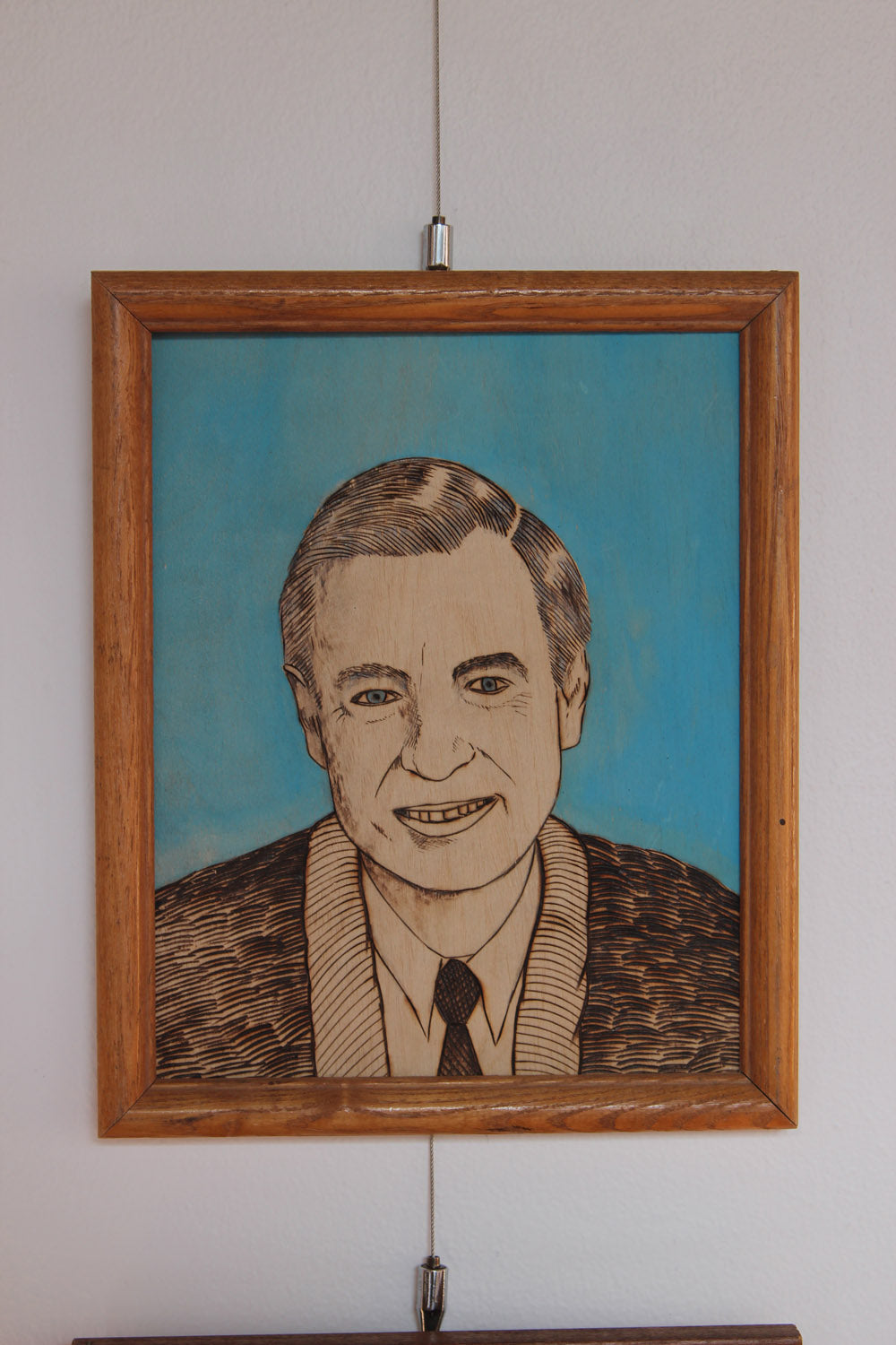 Mister Rogers - Art by Clint Peterson