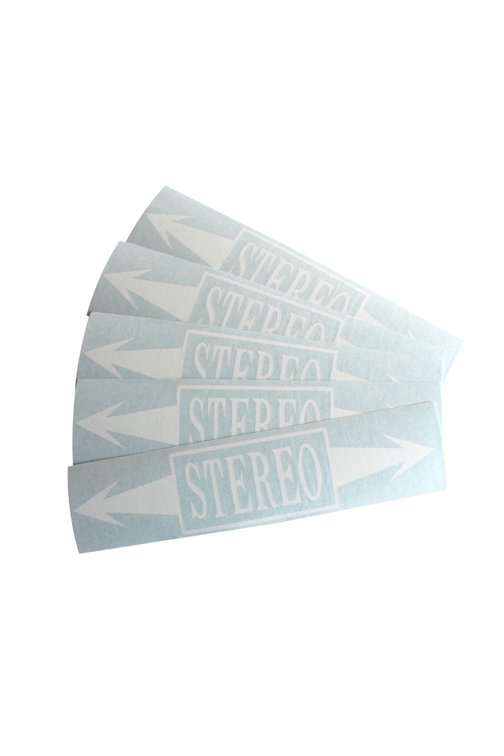 Stereo Arrows decal