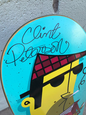 "Vintage Vinyl: OUT OF PRINT, SIGNED Clint Peterson ""Jazz in the Box"""