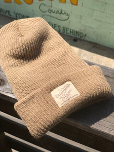 All Weather Traveler Beanie - Tan