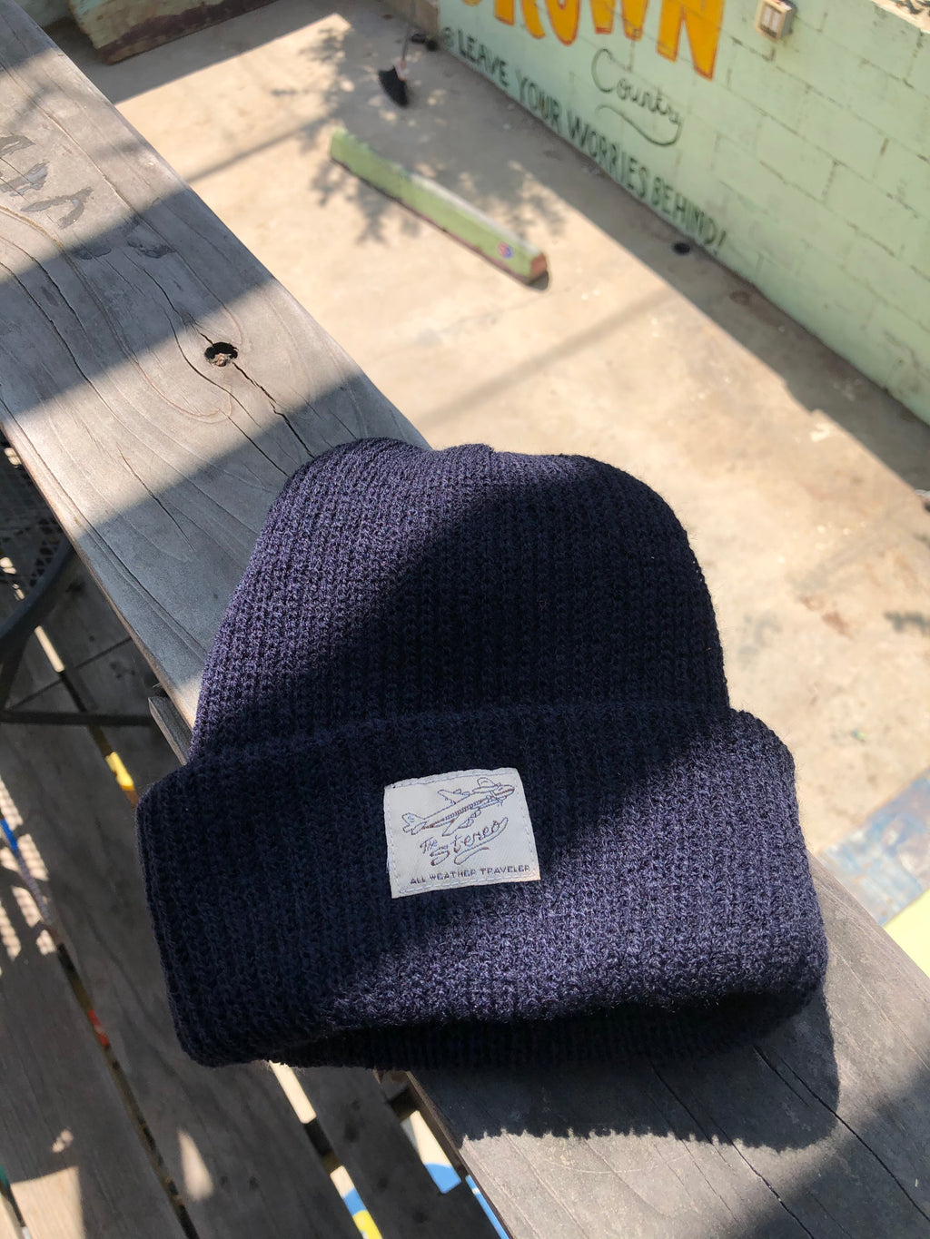 All Weather Traveler Beanie - Navy