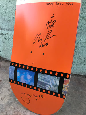 "Vintage Vinyl: ""A Visual Sound"" 2008 Deck Signed + Signed DVD Box Set"