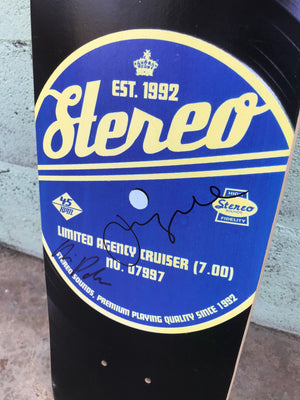 Vintage Vinyl: Stereo Signed Limited Edition Cruiser