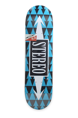 Arrow Pattern Blue 8.3