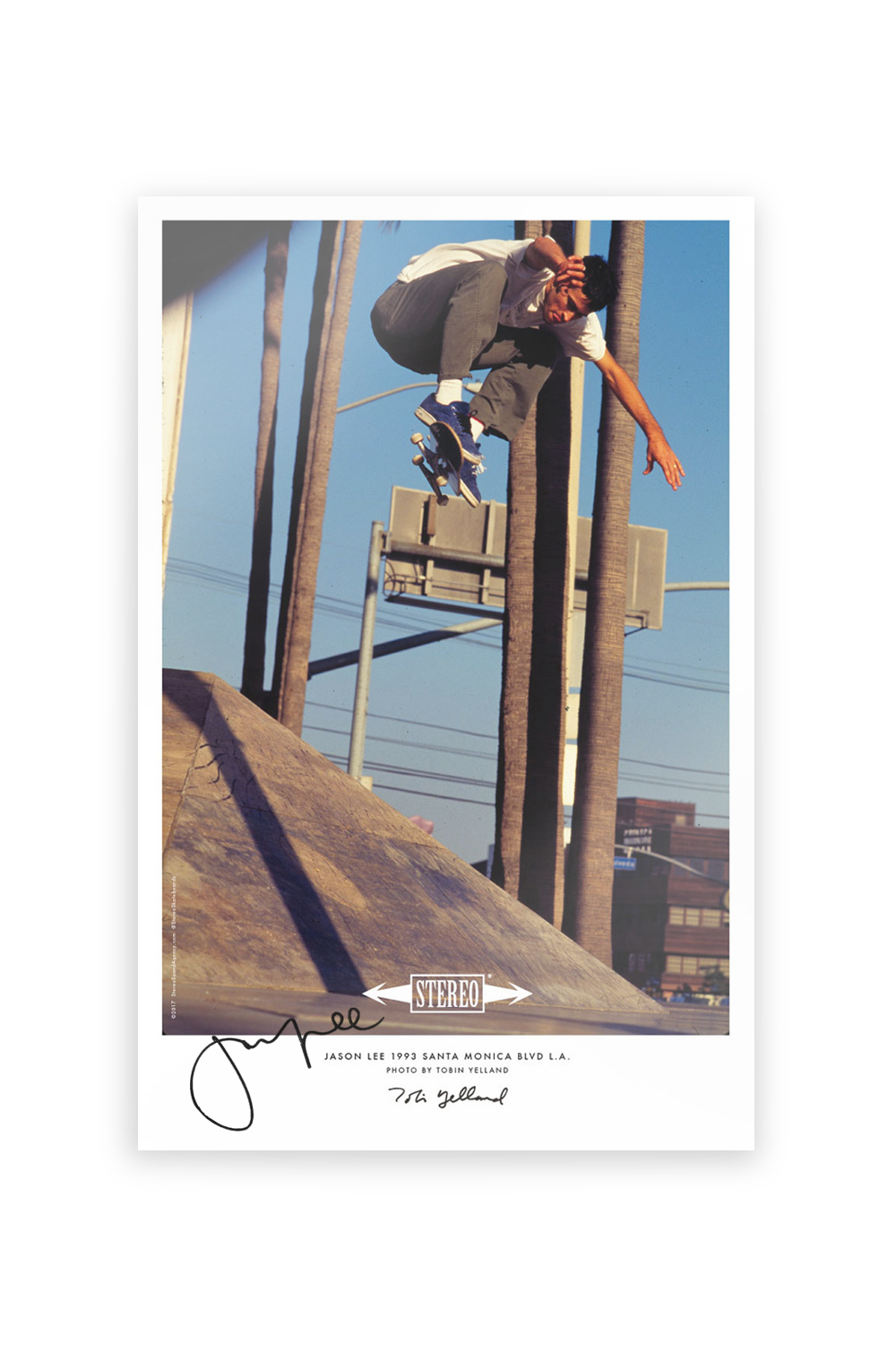 Jason Lee Signed 11x17 Poster
