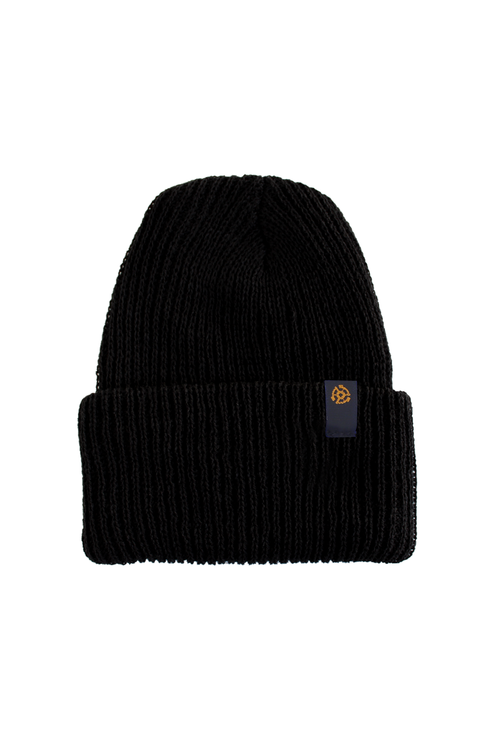 45 Label Beanie - Black