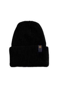 45 Label Beanie- Black