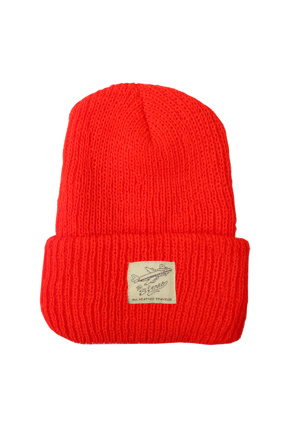 Traveler Beanie - Orange