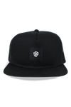 Square 45 label Mesh Snapback