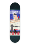 "Carl Shipman ""Cruise"" deck 8.25"