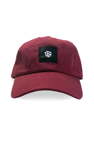 Stereo Dad Hat - Burgundy