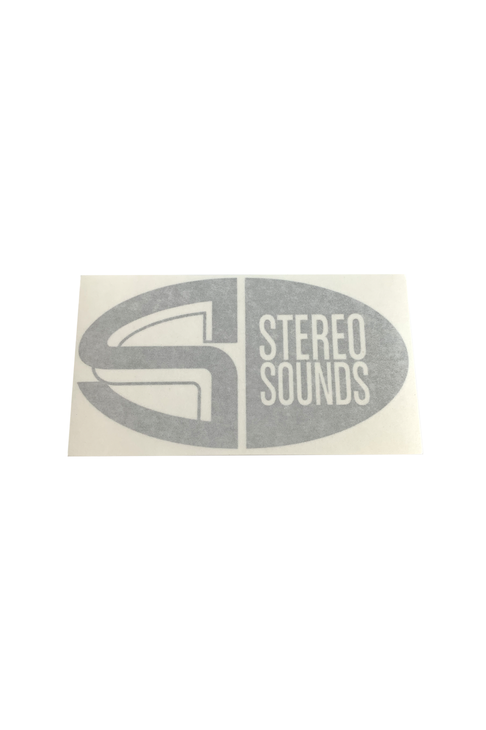 Stereo Sounds decal - black
