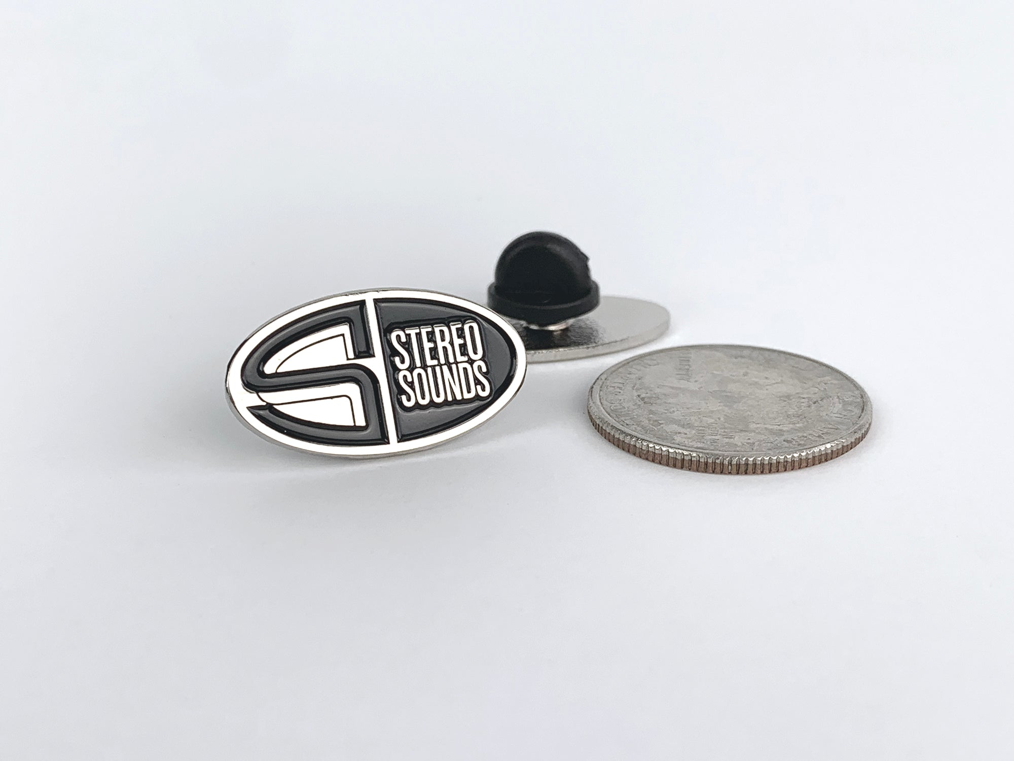Stereo Sounds enamel pin