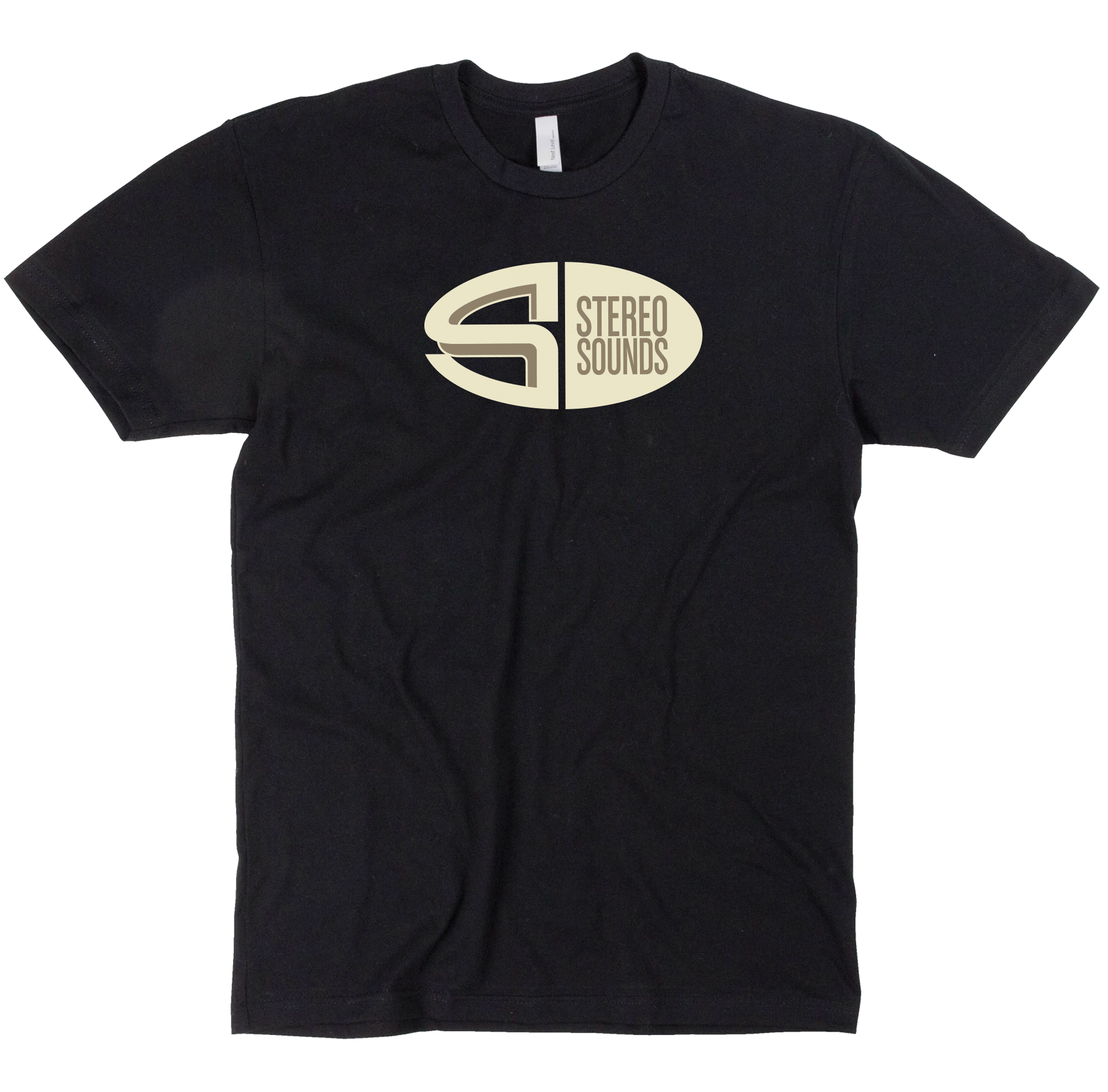Stereo Sounds Oval Tee - Black
