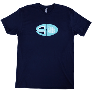Stereo Sounds Oval Tee - Navy