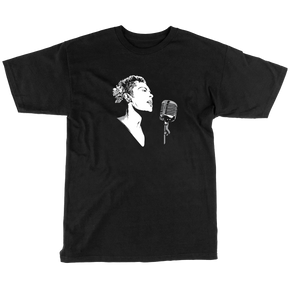 Lady Day Tee - Black