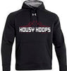 Ladies UA Black ETA Hoodie  (HousBasket)
