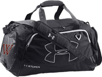 UA Black Duffel Bag (WP)