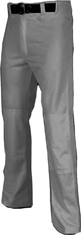 Russell Athletic Open Bottom Baseball Pants <br /> Grey or White <be /> Full Length <br /> (CantMBase)