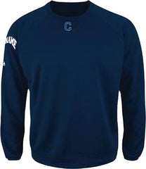 Majestic Premier Home Plate <br /> Tech Fleece <br /> Navy, Long Sleeve <br /> (CantMBase)
