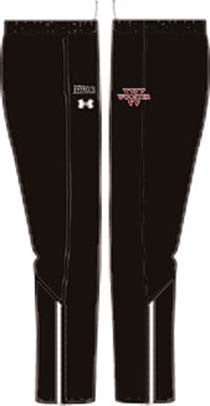 Youth UA Campus Black Pants <br /> Personalized with Name (WP)