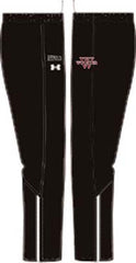 Mens UA Campus Black Pants <br /> Personalized with Name (WP)