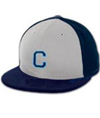 New Era Men's Baseball Hat <br />Navy/White <br /> (CantMBase)