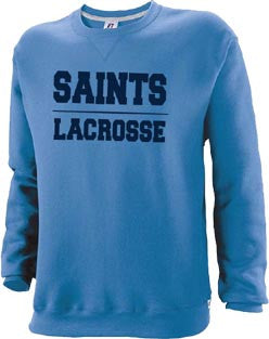 Russell Athletic Columbia Blue Crew Neck Sweatshirt (CantM-Lax)