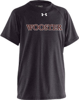 Mens UA Short Sleeve <br /> Black  Locker Tee  (WP)