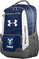 Navy Under Armour Hustle Backpack  (CantG-Tennis)