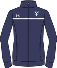 Ladies UA Campus Full-Zip <br /> Navy Jacket <br />  (CantG-Tennis)