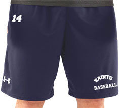 "UA Navy Men's Micro Shorts - 10""  (CantMBase)"