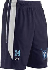 UA Navy/White Roster Shorts <br /> (CantM-Lax)