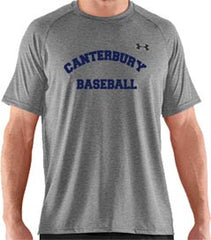 UA Men's Grey Locker Tee <br /> Short Sleeve <br /> (CantMBase)