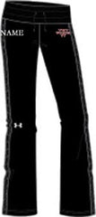 Ladies UA Black Storm Sweatpants  (WP)