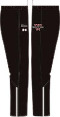 Ladies UA Campus Black Pants <br /> Personalized with Name (WP)