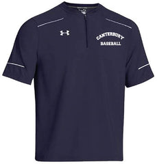 UA Men's Navy Ultimate <br /> Cage Jacket <br /> Short Sleeve <br /> (CantMBase)