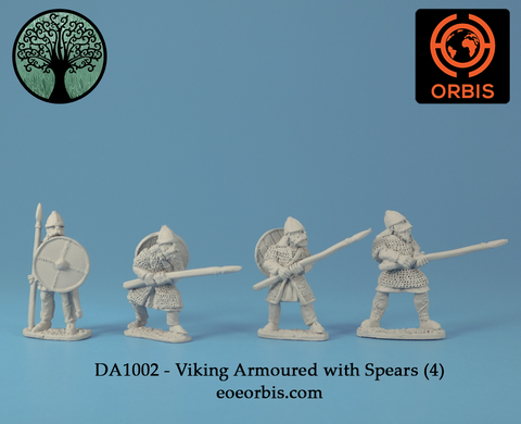 DA1002 - Viking Armoured with Spears (4)