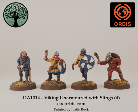 DA1014 - Viking Unarmoured with Slings (4)