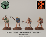 DA1015 - Viking Naked Beserkers with Axes (4)