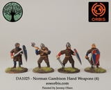 DA1025 - Norman Gambison Hand Weapons (4)